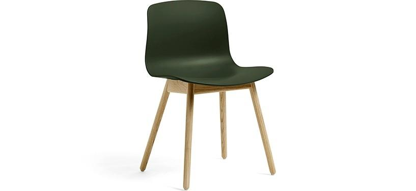 HAY About a Chair AAC12 · Green · Eg mat lak