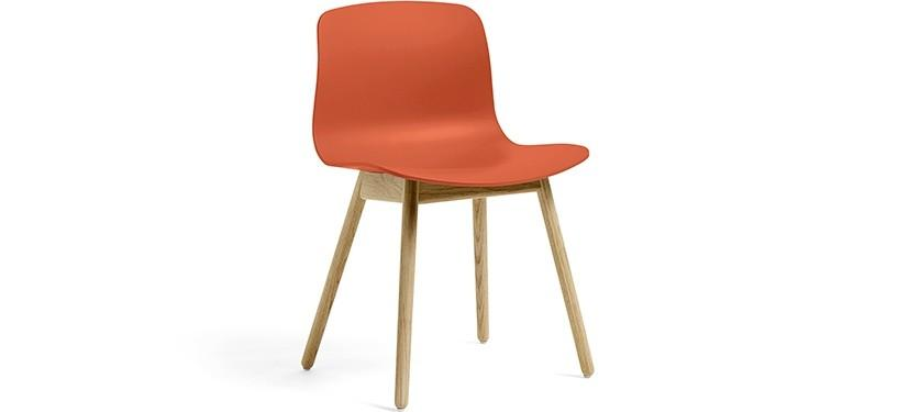 HAY About a Chair AAC12 · Orange · Eg mat lak