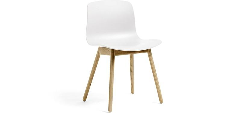 HAY About a Chair AAC12 · White · Eg mat lak