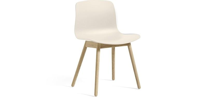 HAY About a Chair AAC12 · Cream white · Eg sæbebehandlet