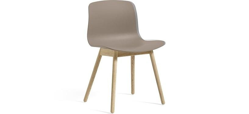 HAY About a Chair AAC12 · Khaki · Eg sæbebehandlet