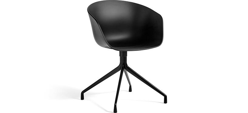 HAY About a Chair AAC20 · Black · Black