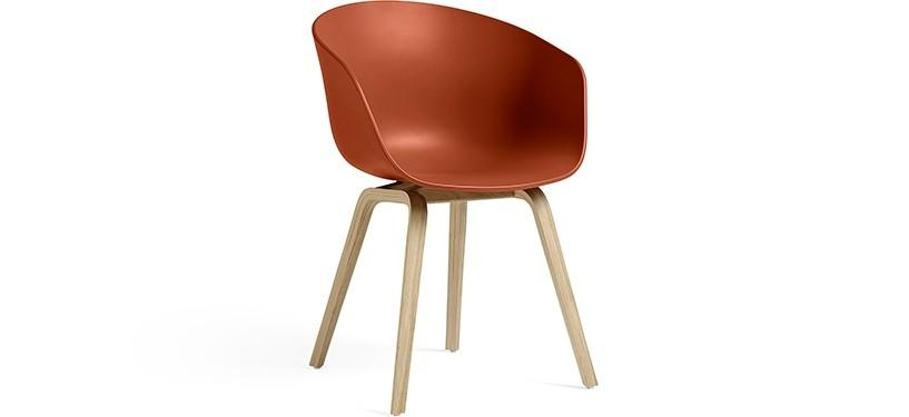 HAY About a Chair AAC22 · Orange · Eg mat lak
