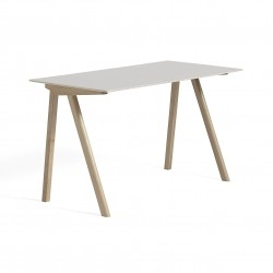 HAY Copenhague Desk CPH90 · Eg sæbebehandlet · Linoleum