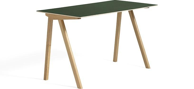 HAY Copenhague Desk CPH90 · Eg klar lak · Linoleum