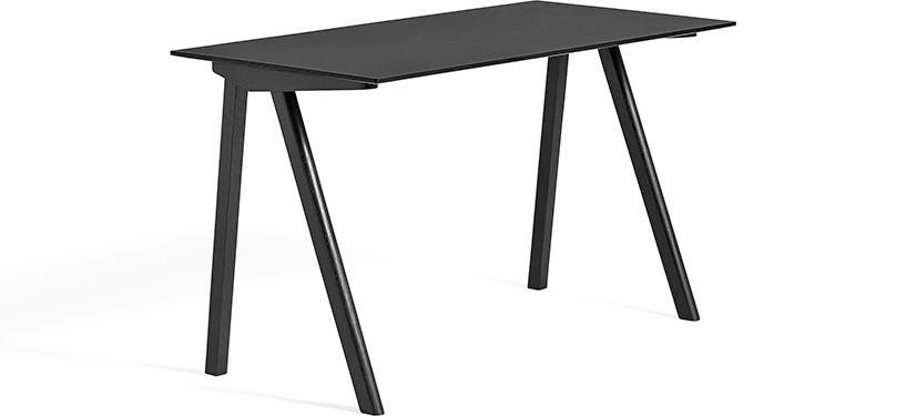 HAY Copenhague Desk CPH90 · Eg sortbejdset · Linoleum