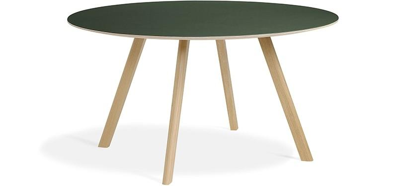 HAY Copenhague Table CPH25 · Eg mat lak · Linoleum