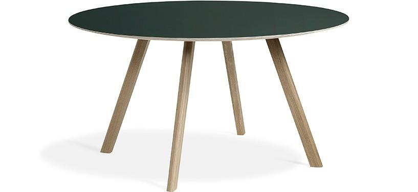 HAY Copenhague Table CPH25 · Eg sæbebehandlet · Linoleum