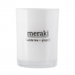 Meraki Scented Candle White Tea & Ginger