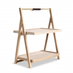 The Oak Men Step Tray Table