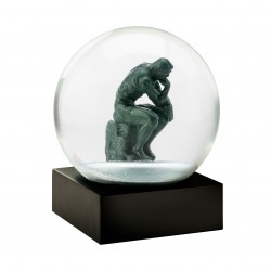 CoolSnowGlobes The Thinker