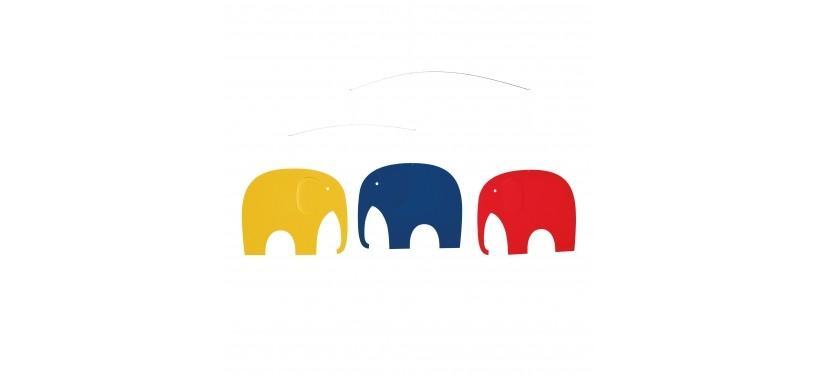 Flensted Mobiles Elefantkomsammen