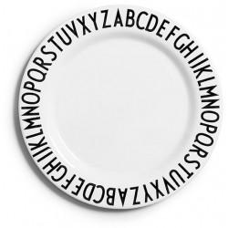 Design Letters Arne Jacobsen melamintallerken
