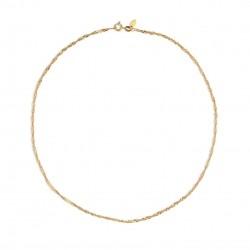 By Thiim Gold Necklace Twist