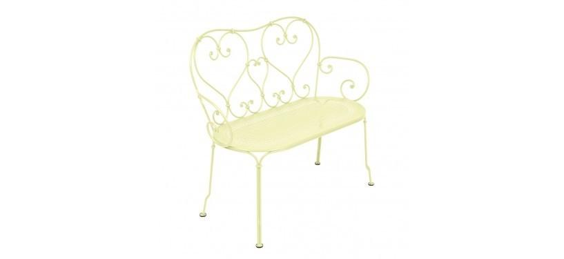 Fermob 1900 Bench · Frosted Lemon