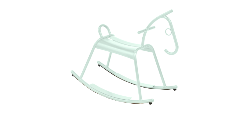 Fermob Adada Rocking Horse · Willow Green
