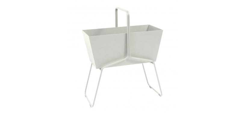 Fermob Basket High Planter · Plum