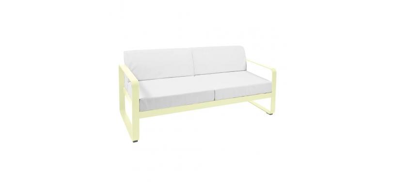 Fermob Bellevie Sofa · 2 personer · Russet/Flannel Grey