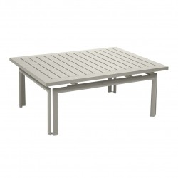 Fermob Costa Low Table · Steel Grey