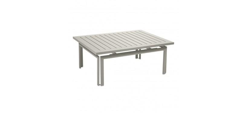 Fermob Costa Low Table · Steel Grey