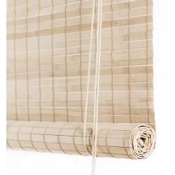 Color & Co lys brun bambus rullegardin