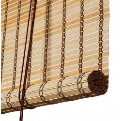 Color & Co brun natur bambus rullegardin