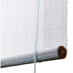 Color & Co hvidt bambus rullegardin