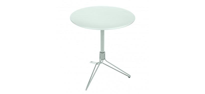 Fermob Flower Pedestal Table · Anthracite