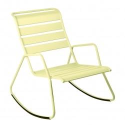 Fermob Monceau Rocking Chair · Plum