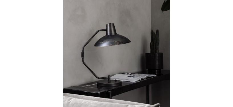 House Doctor Bordlampe Desk Antik brun