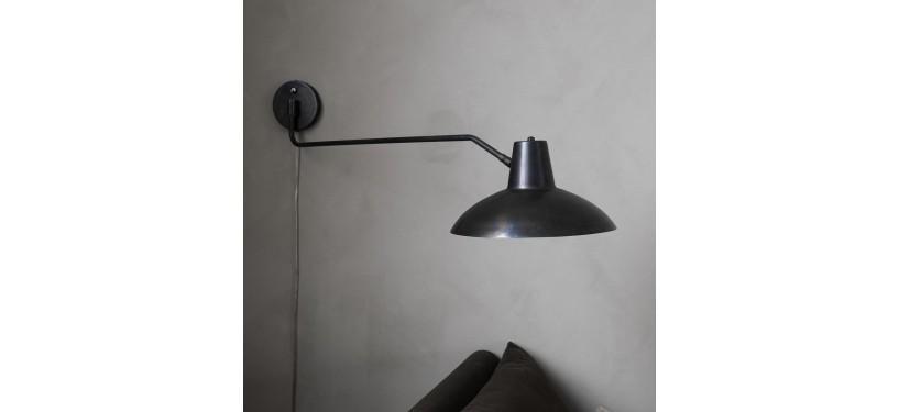 House Doctor Væglampe Desk Antik brun