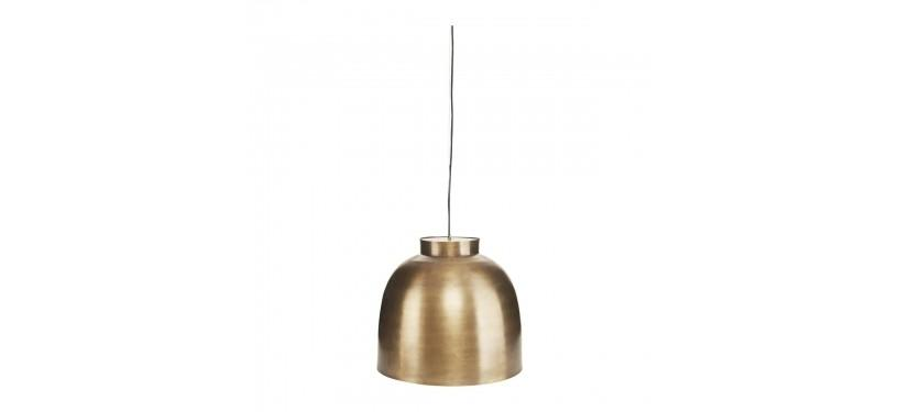 House Doctor Lampe Bowl Messing