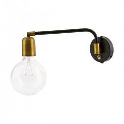 House Doctor Væglampe Molecular Sort/Messing