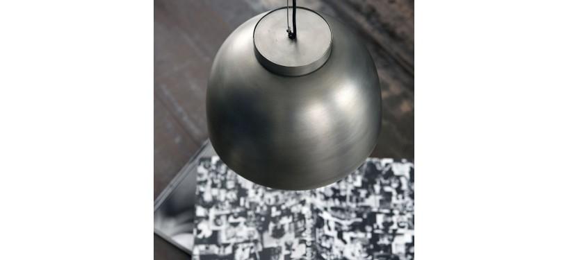 House Doctor Lampe Bowl Gunmetal
