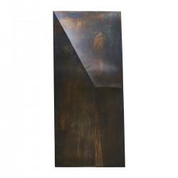 House Doctor Wall art Fold design Antik brun