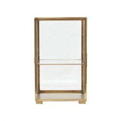House Doctor Kabinet Glass Messing