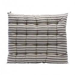 House Doctor Sædehynde Striped Sort/Grå