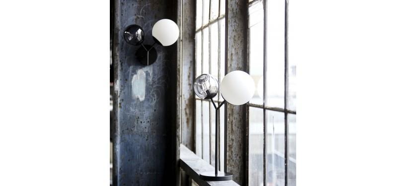 House Doctor Bordlampe Twice Sort