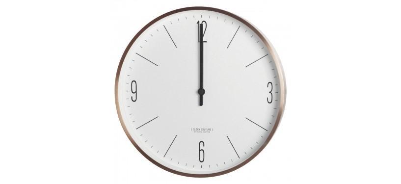 House Doctor Vægur Clock Couture Hvid/Guld