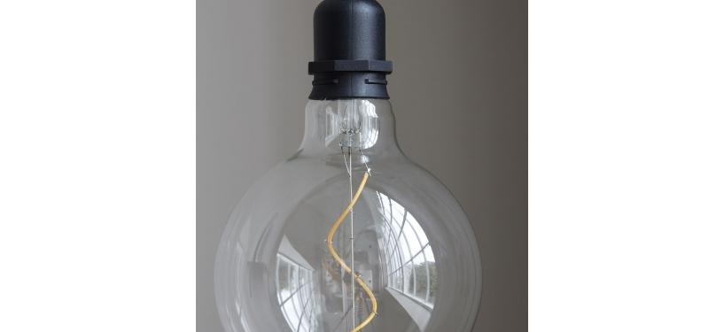 House Doctor Lampe Coso Sort