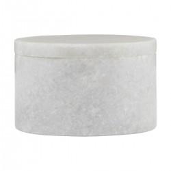 House Doctor Opbevaring Marble Hvid marmor