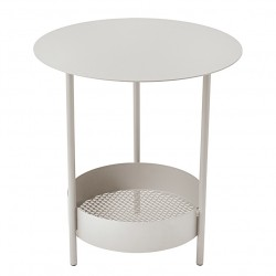 Fermob Salsa Side Table · Carrot