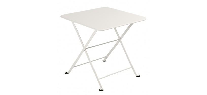 Fermob Tom Pouce Low Table · Ø 55 · Aubergine