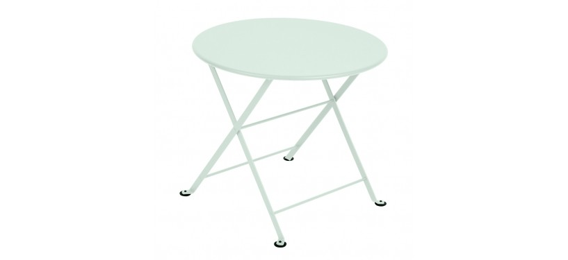 Fermob Tom Pouce Low Table · 50 x 50 · Acapulco Blue