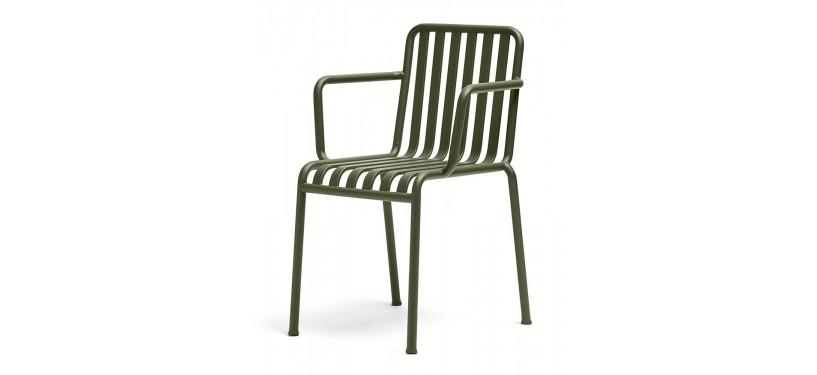 HAY Palissade Arm Chair · Sky grey