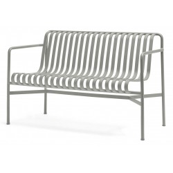 HAY Palissade Dining Bench · Sky grey