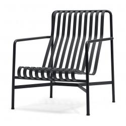 HAY Palissade Lounge Chair High · Sky grey