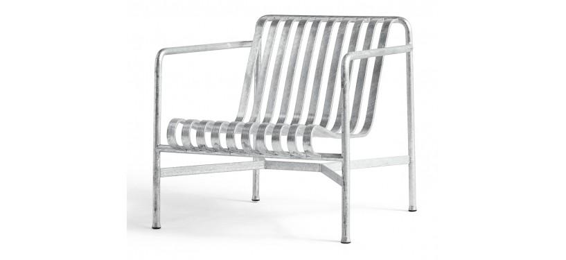 HAY Palissade Lounge Chair Low · Anthracite