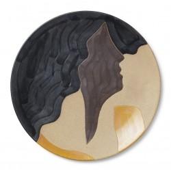 Ferm Living Aya Ceramic Platter