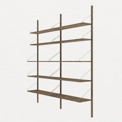 Frama Shelf Library Double Section